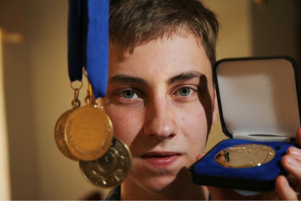 Zen Watkins won a slew of medals and awards, including being named Dux in 2014 and 2015. Picture: Andrew Ritchie        www.communitypix.com.au   d448369
