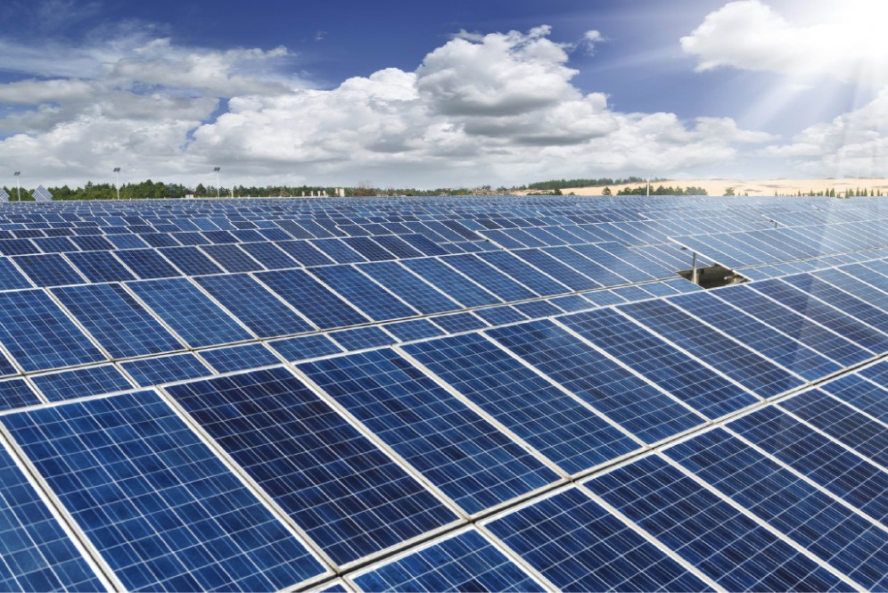 Solar power is one part of Swan's carbon management strategy.