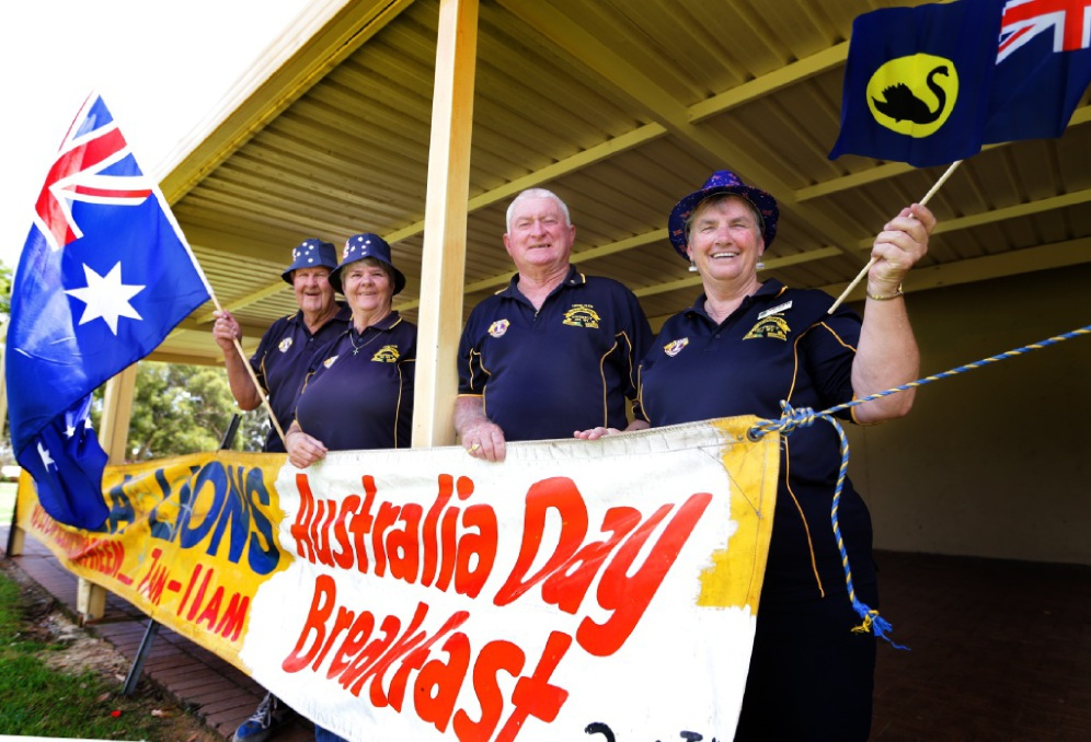 Lions Club of Girrawheen members Terry and Dorothy Dodd,Rick Snow and Jenny Hunter. Picture: Martin Kennealey           d448419