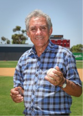 Charlie King at Baseball Park in Thornlie.