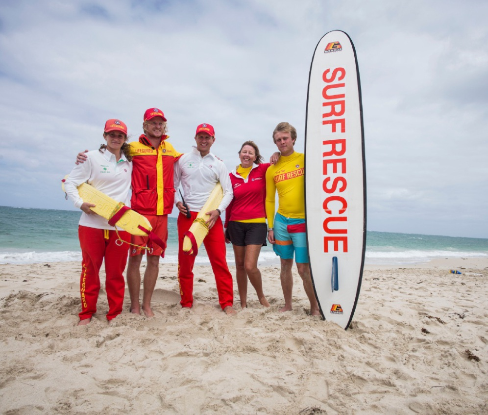 Roving pirate entertainers at the BeachSAFE activation zone launch. Picture: Tony McDonough