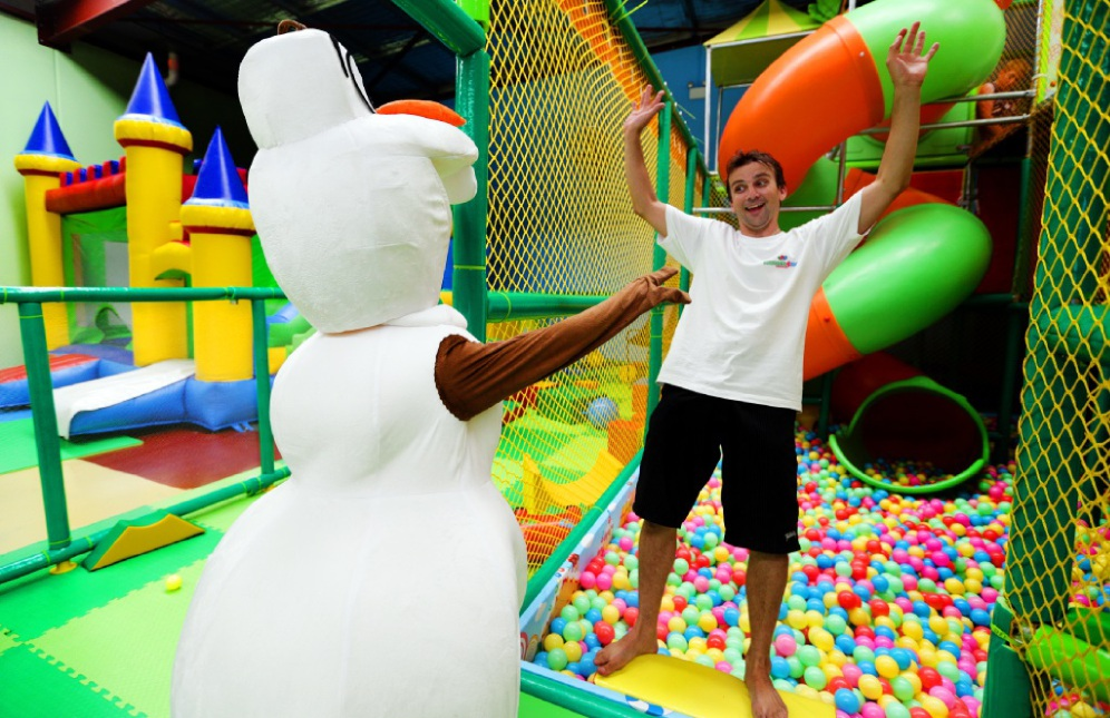 Funtastic 4 Kids owner Blake Luxford.  Picture Martin Kennealey  d448251
