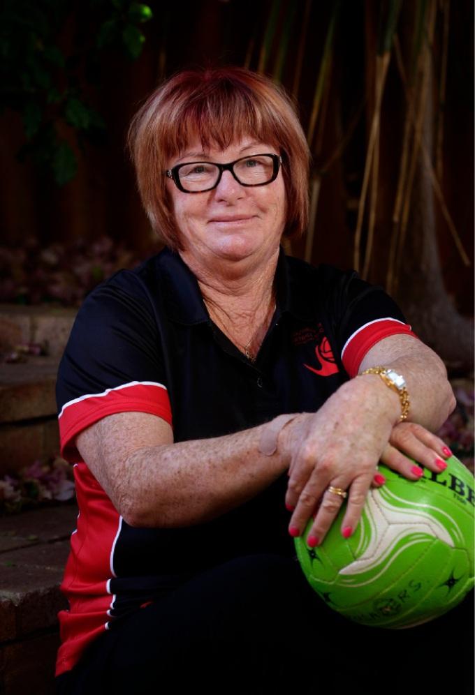 Netballer Mary Cash. d447903