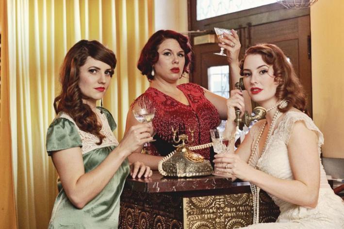 Amy Rosato, Alissa de Souza and Jessie Gordon. Picture: Capture and Rapture Photography