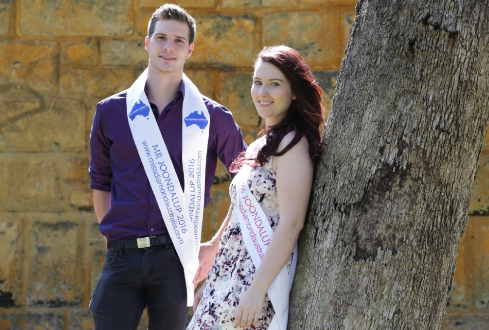 Andrew Hortin of Kiara and Denika Donnelly of Butler. Picture: Martin Kennealey  d446094