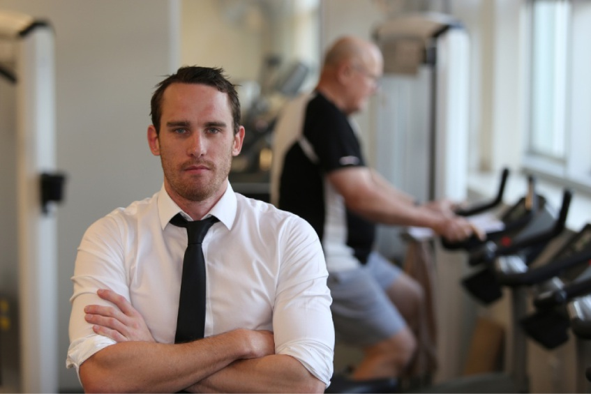 Nicolas Hart is investigating if exercise could slow the growth of cancerous tumours.