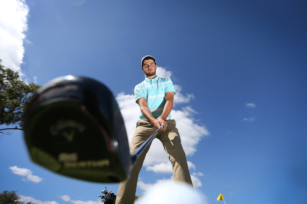 WA golfer Curtis Luck. Picture: Andrew Ritchie