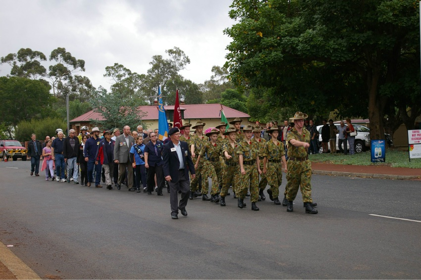 Chidlow ANZAC Day events were supported by Shire of Mundaring.