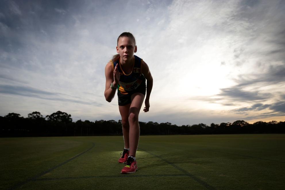 Little athlete, big future: Annie Pfeiffer