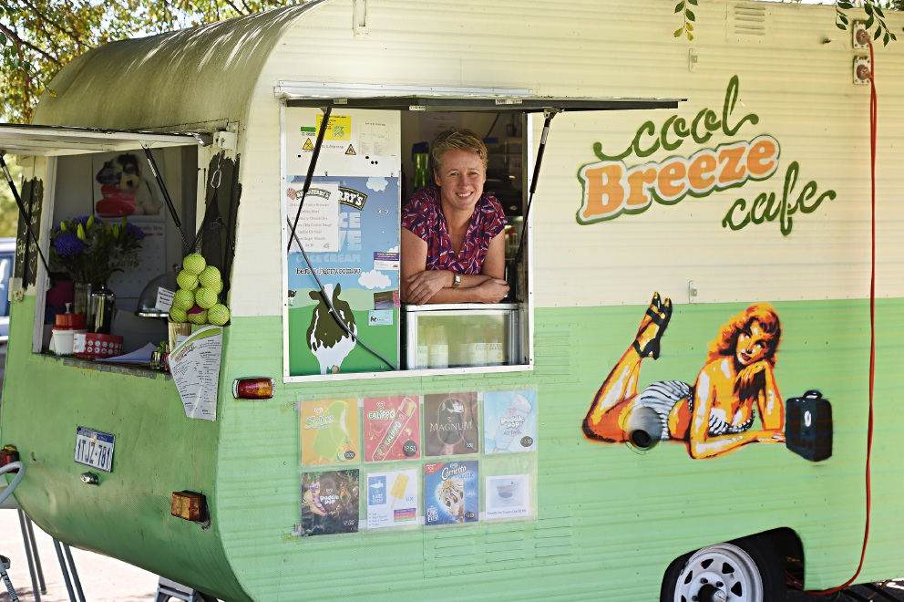 Cool Breeze will be in Riverside Gardens for another year.