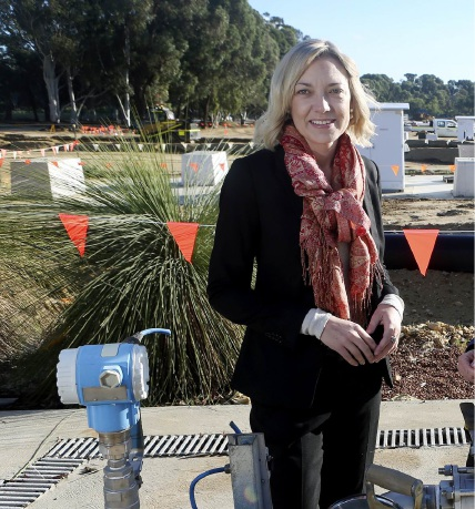 Sport and Recreation Minister Mia Davies announced $150,000 would be given to help redevelop sports facilities after January's devastating fires.