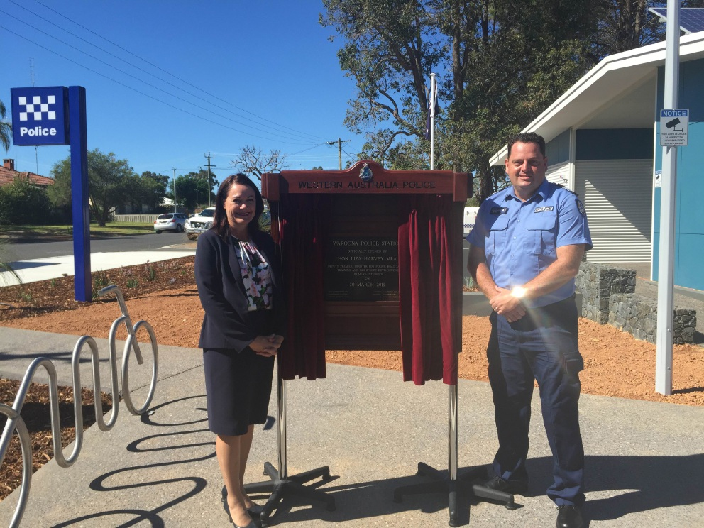 Waroona Police Station officially opened