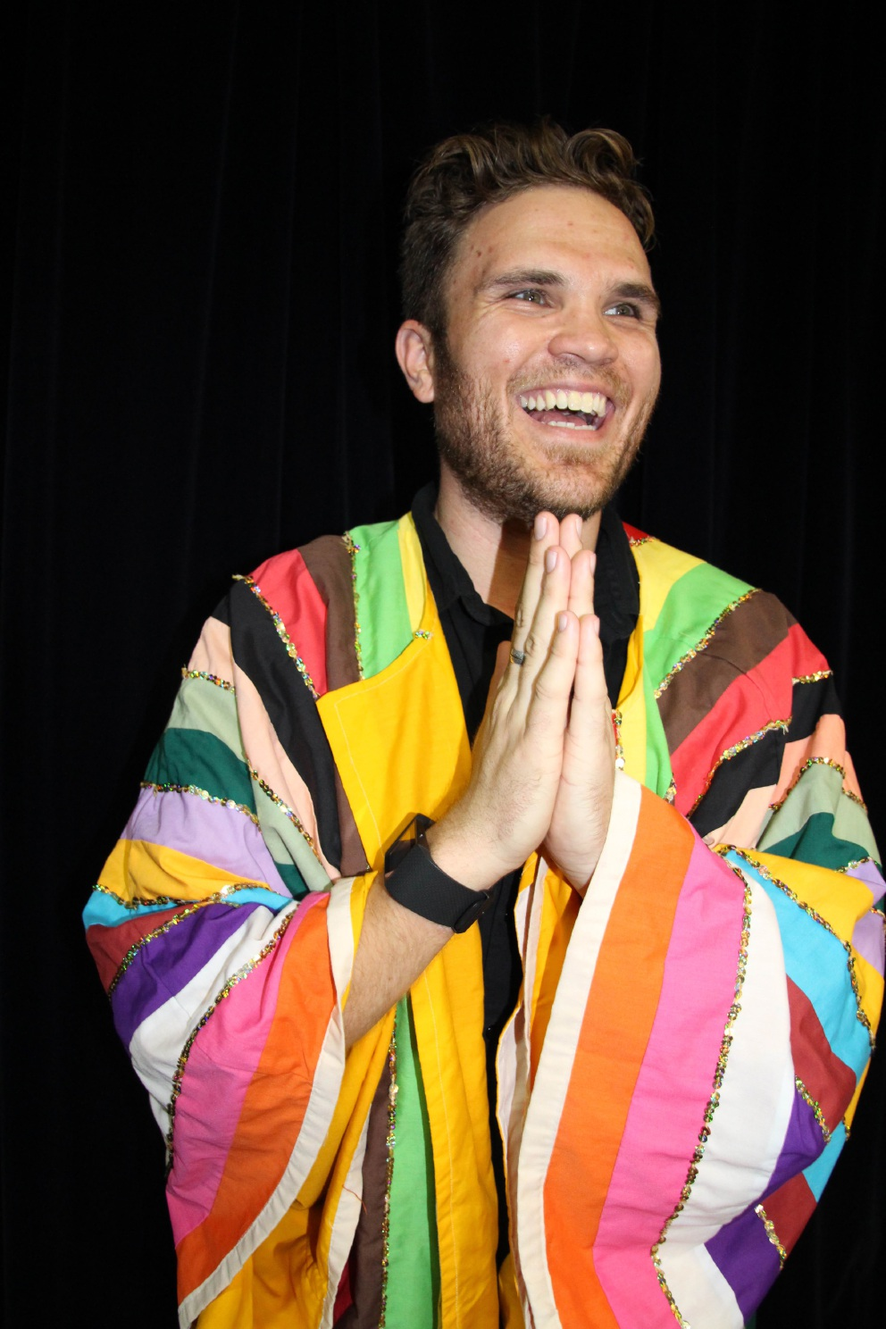 Lawrence Williams plays the title role in Joseph and his Technicolour Dream Coat.