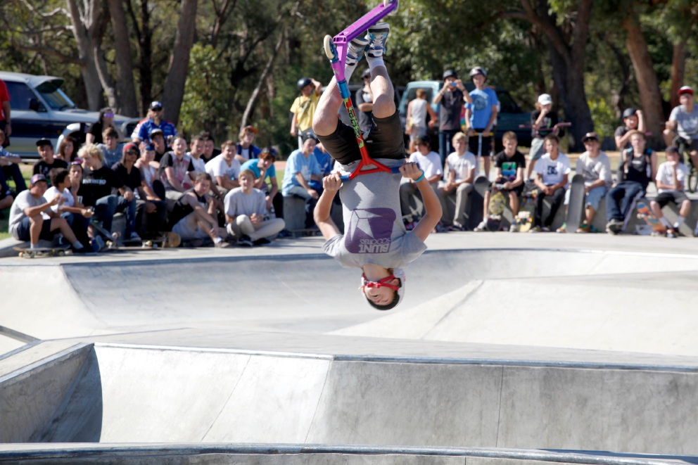 Ramp It Up is a competition in a real festival atmosphere with something for everyone.