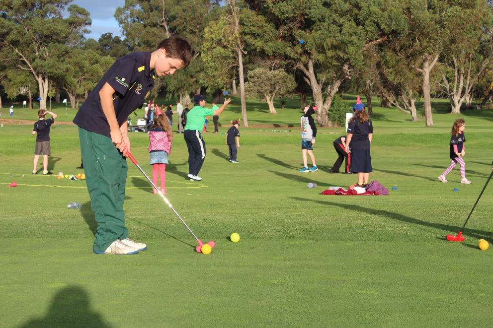 Kwinana First Tee program teaches kids life lessons
