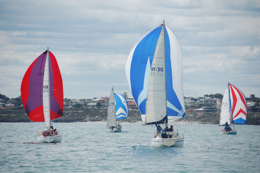 Hillarys Yacht Club: race to Rottnest Island decisive in Ocean Series