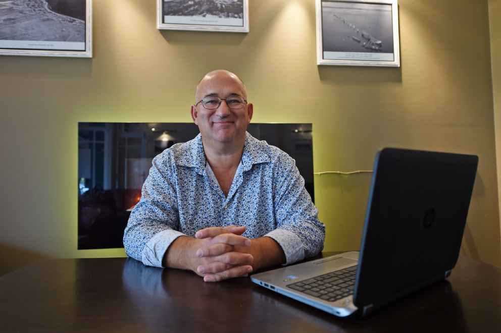 Paul Blythe (Essential Salt managing director). Picture: Jon Hewson d453562