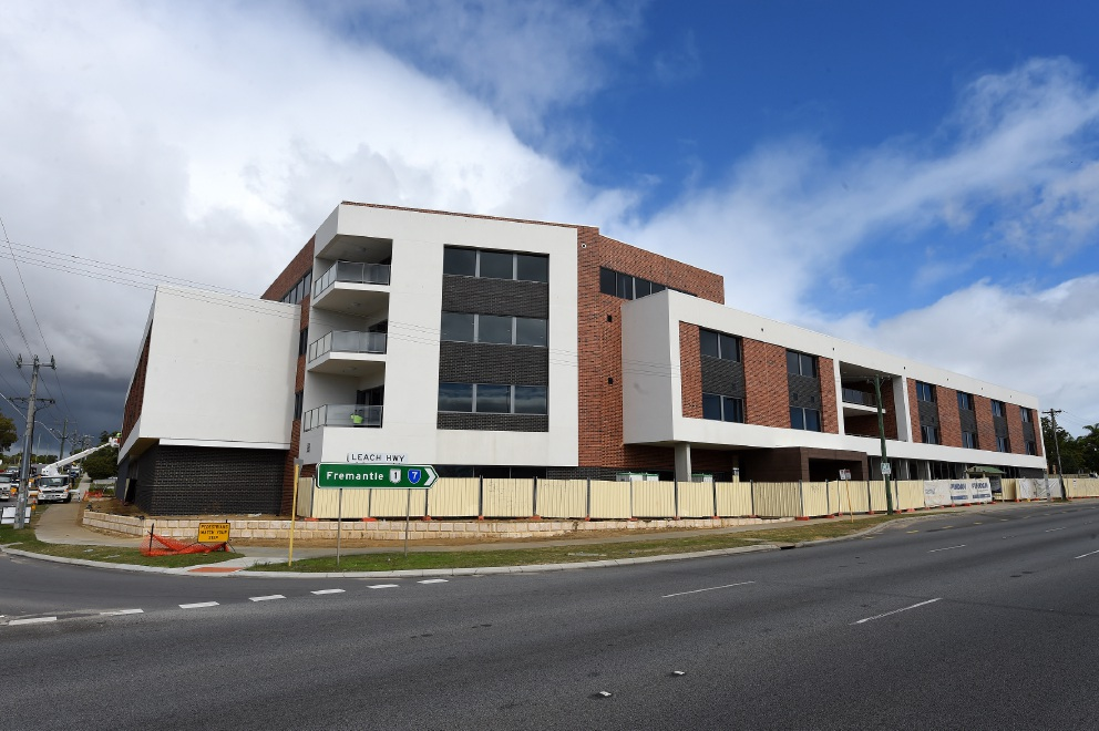 Braemar Cooinda, the new aged care facility on the corner of North Lake Road and Leach Highway. Picture: Jon Hewson.