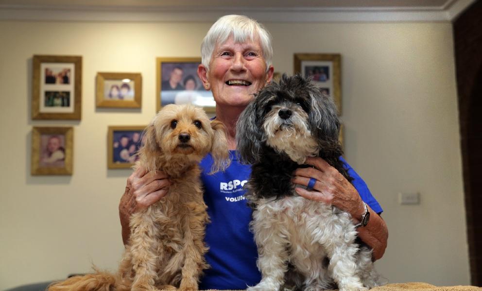 RSPCA volunteer Hazel Doyle. Picture: Martin Kennealey www.communitypix.com.au   d453629