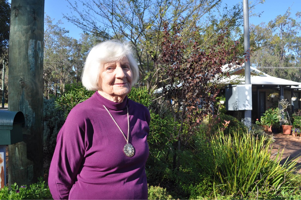 Pat McIntyre began volunteering when she was 16 and continues now she is 88.