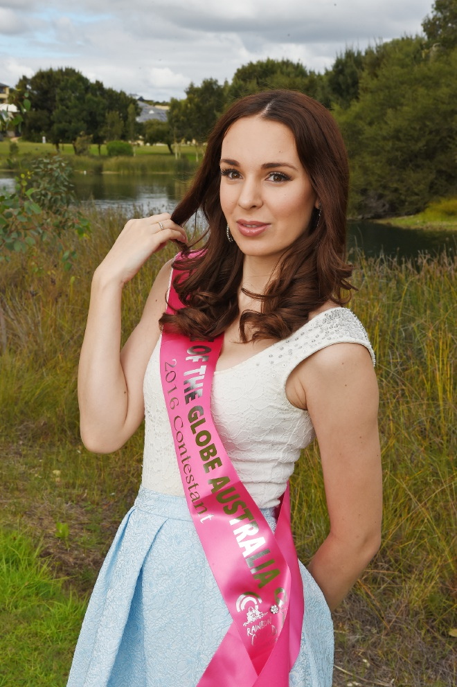 Shantelle Bezant has the chance to represent Australia in a pageant that goes beyond the superficial.  Picture: Jon Hewson www.communitypix.com.au   d453592