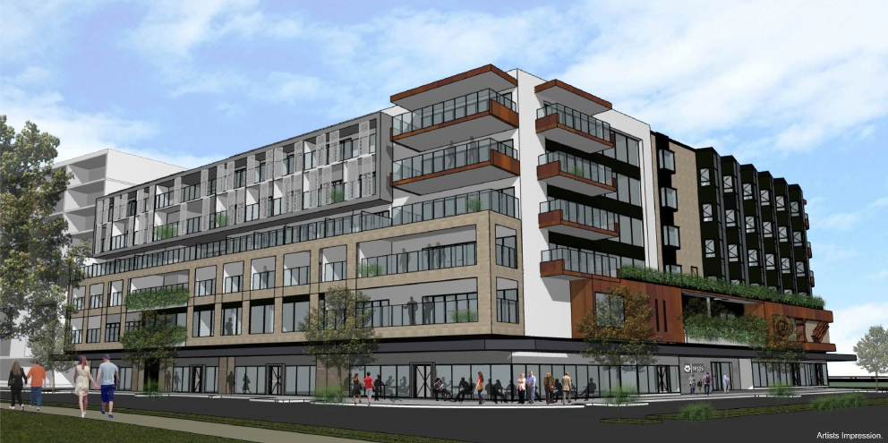 An artist's impression of the aged care facility coming to Port Coogee.