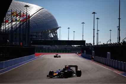 Daniel Ricciardo had a tough day in Russia.
