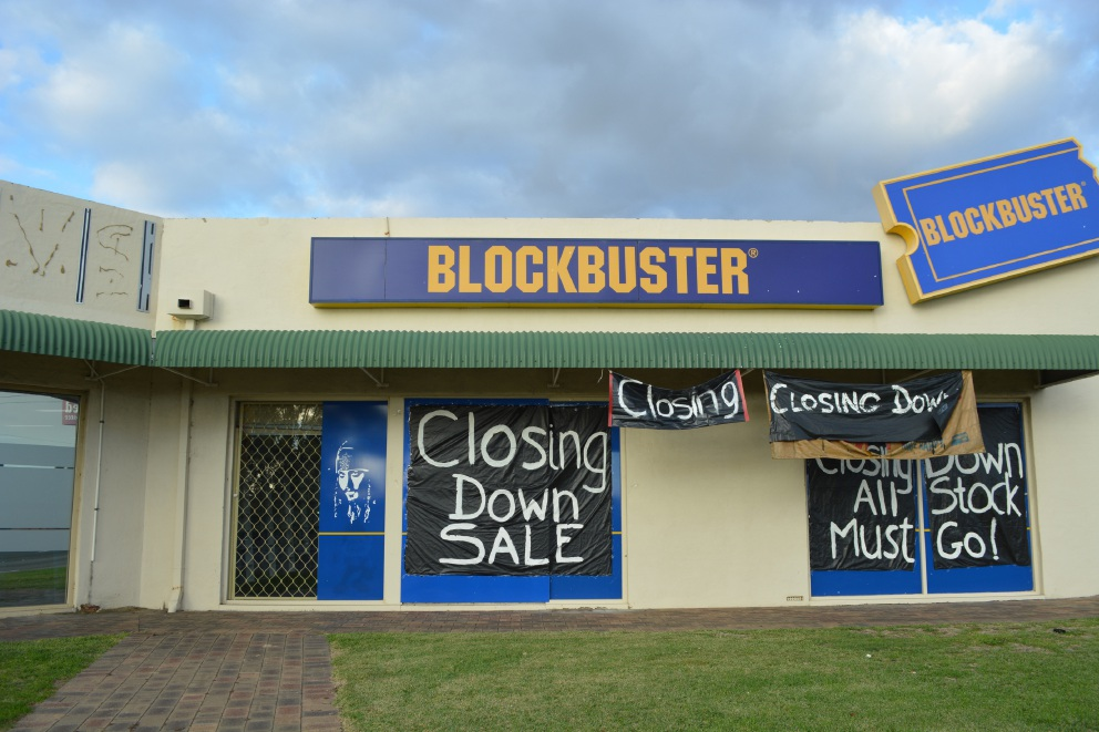 Blockbuster Westminster closed in 2016.