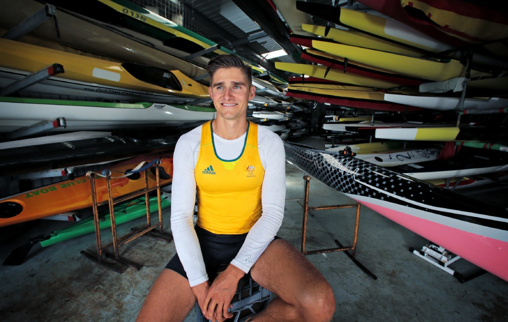Stephen Bird has events in Germany and Czech Republic, before two months training in London prior to the Rio Games. Picture: David Baylis www.communitypix.com.au   d453754