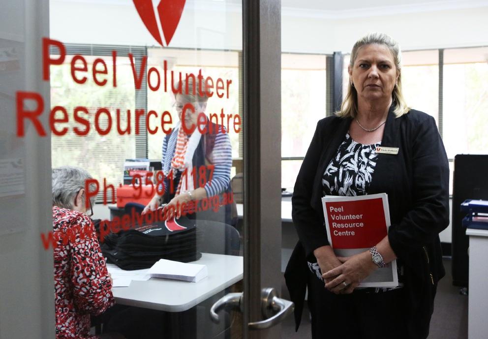 Vicki Pollard of the Peel Volunteer Resource Centre. Picture: Matt Jelonek d453794