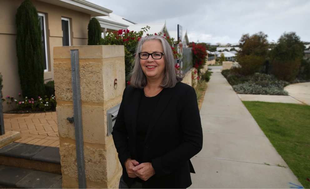 Smart Cities Plan: Yanchep resident Marcia Berdal looks forward to cutting commuting time