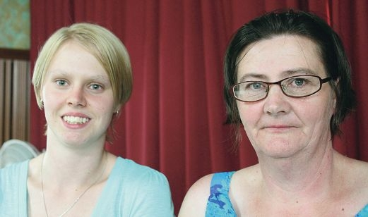 Tahira Gale is considering getting brain surgery to remove a cyst and tumour. She flew to Sydney with her mother Tasma Dawson to get advice from a top neurosurgeon.