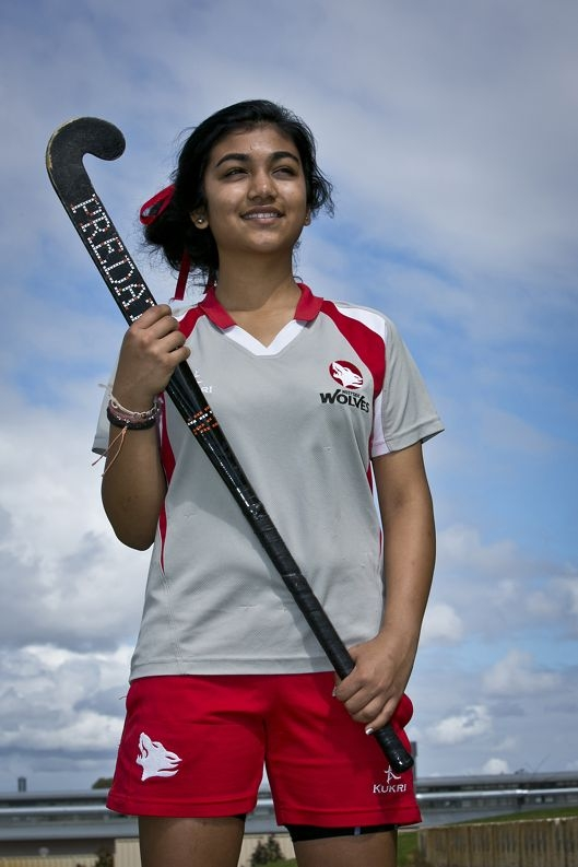Vaneezeh Kalim sets an example for others. Picture: Louise White www.communitypix.com.au d386555