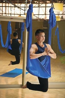 Air Yoga director Trevor Aung Than.