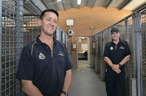 Paul Fromont and Matt Bull are among the many rangers praised for animal welfare work.www.communitypix.com.au d396219