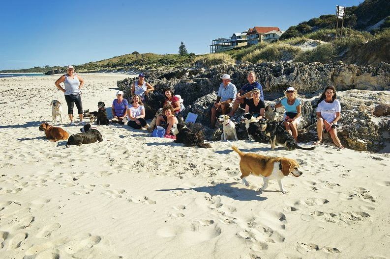 Yanchep and Two Rocks residents starting a petition asking for the dog beach to be extended