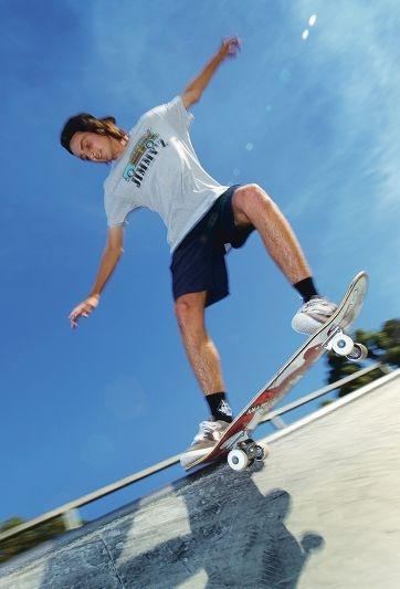 Star skater Zac Clinckers. Picture: Dominique Menegaldo www.communitypix.com.au d396714