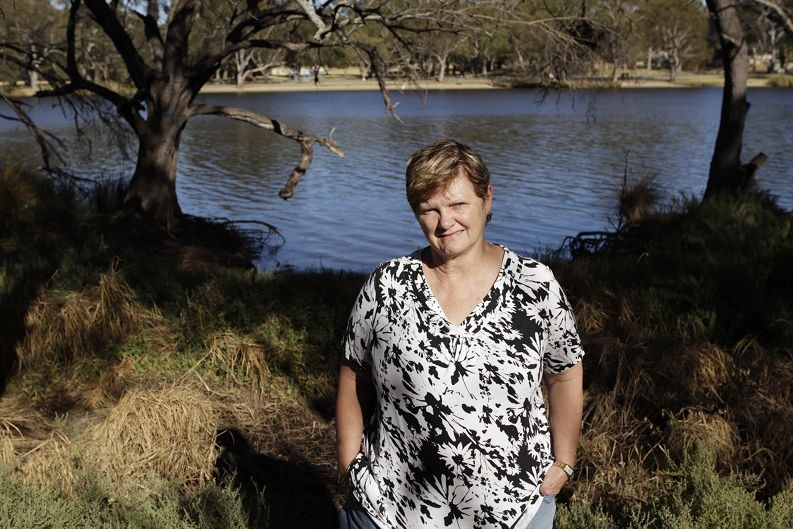 Sue Pethick wants to see new life breathed into a dying Swan River ecosystem . Picture: Martin Kennealey d396548