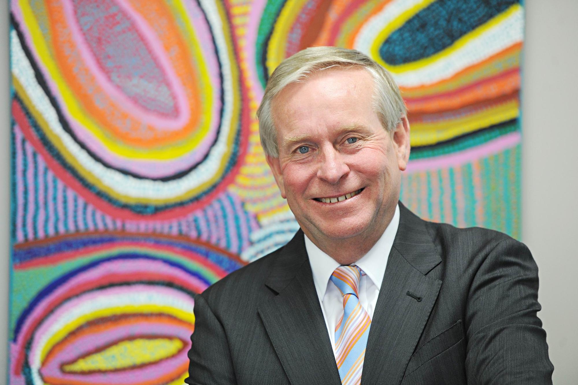 Premier of Western Australia Colin Barnett at his electorate office