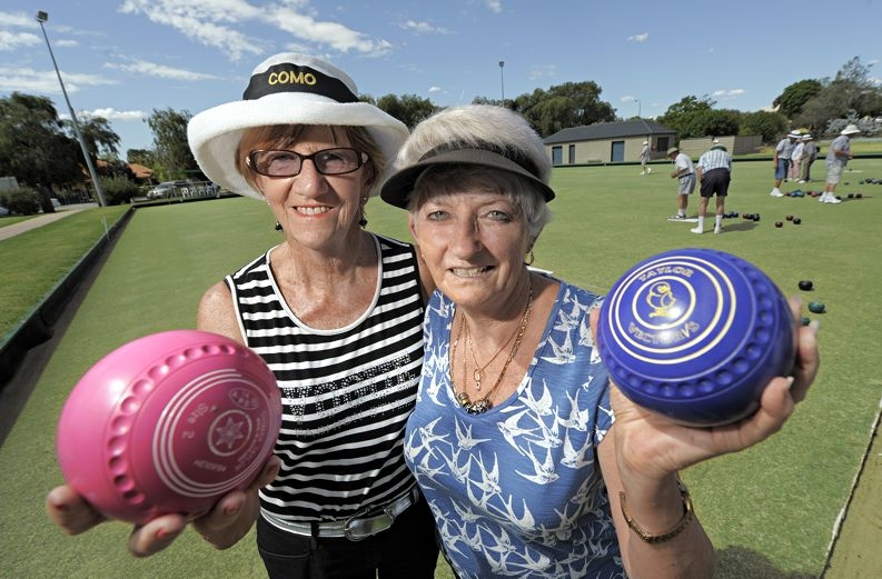Pennant hopefuls Jill Mulheron (South Perth) and Ann Jacobs (Bentley). d396218