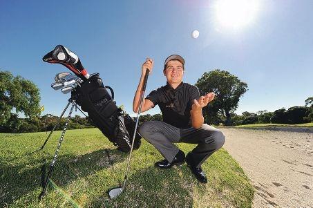 WA Junior Golf Captain Curtis Luck (16, Woodlands) [NAME OK]