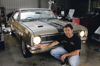 Anthony Begley (Banjup) with an HT Monaro 1969