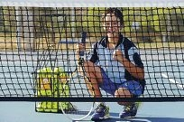 Mt Lawley Tennis Club's Josh Martelli. 397336