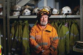 Kalamunda Volunteer Bushfire Brigade Deputy Captain Mike Lennon