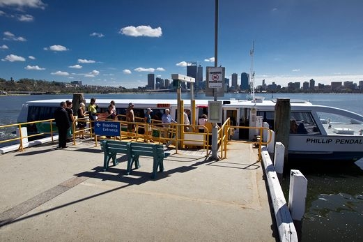 The trial of the late-night ferry service ends on April 30. Picture: Matthew Poon www.communitypix.com.au d398093