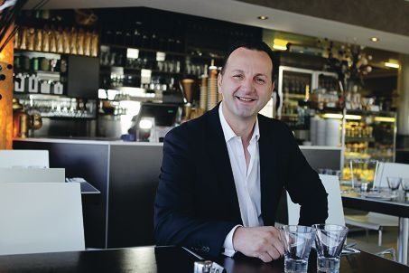 Cafe Nocello owner Lorenzo Bokshi. Picture: Martin Kennealey