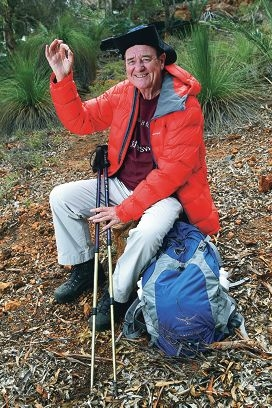 Herb Boltong, 69, plans to climb 4200m in Nepal this month.