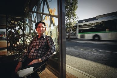 Dr Shahed Khan is leading research into introducing a community bus linking Mt Lawley with Leederville. Picture: Andrew Ritchie www.communitypix.com.au d398606