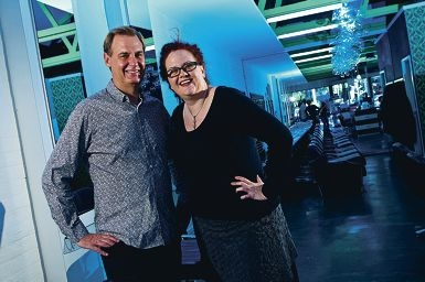 Local hairdressers Dale Brierty and Jude Dierden are passionate about their industry.