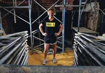 Organiser of an outdoor movie night fundraiser and taking part in the NYC Marathon later in the year, Julie Meek.